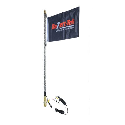 4' Single Bluetooth Ballistic LED Whip (Gold)