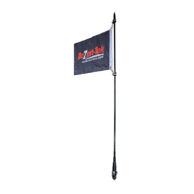 6' Single Ballistic Day Whip (Black) (Non-LED)