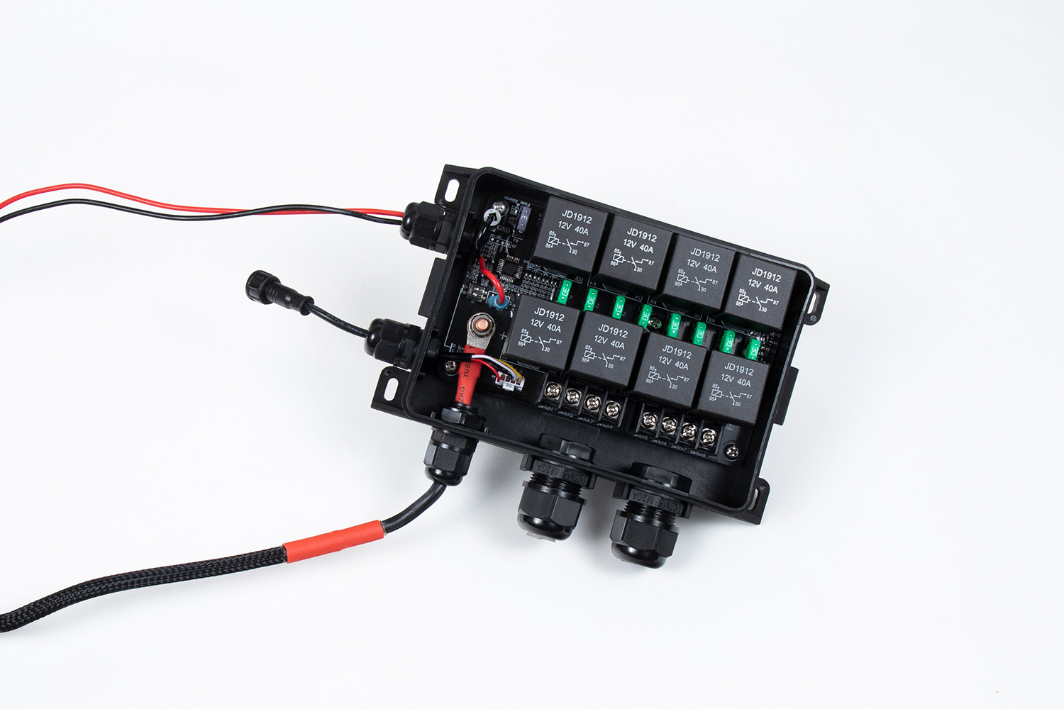 Pro8 Switch Box (Open Box - Relays, Fuses, Fully Serviceable)
